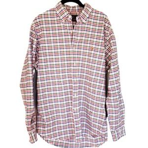 4/$24 Ralph Lauren Polo Pink Plaid Button Up Shirt